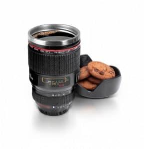 Camera Lens Mug Secret Santa Gift Idea
