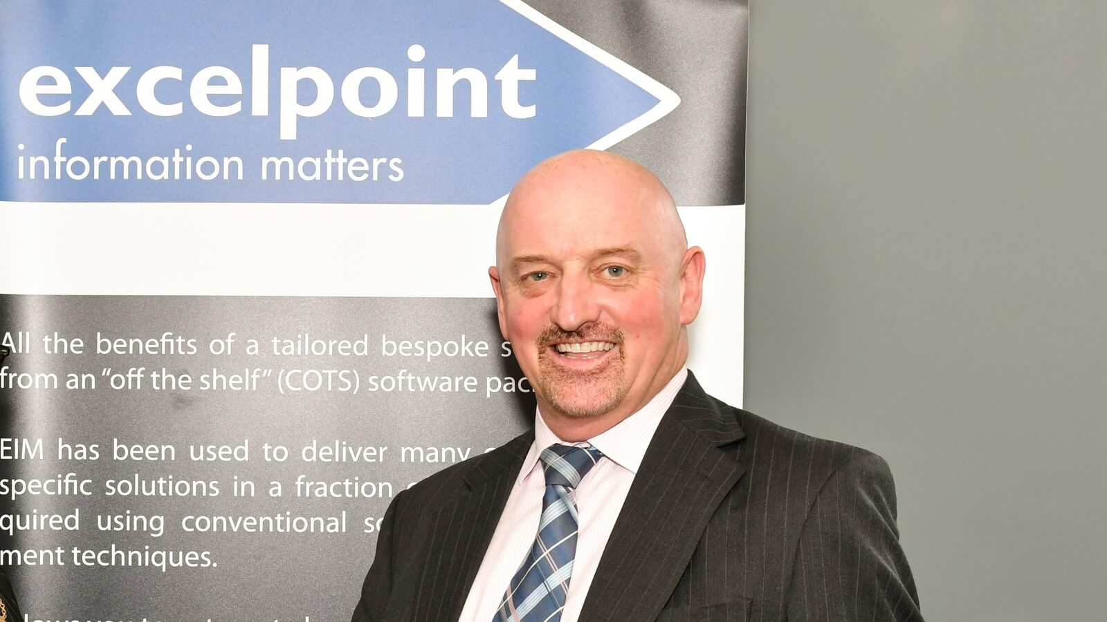 Ian Brown Is Bursting To Tell His Excelpoint Secret